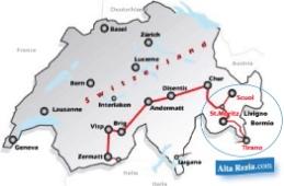 Mappa Trenino Rosso